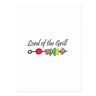 Lord Of The Grill Postcard