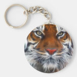Lord of the Indian Jungles, The Royal Bengal Tiger Basic Round Button Keychain