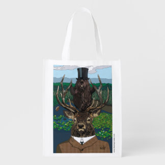 Lord of the manor reusable grocery bag