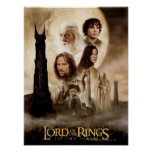 Lord of the Rings: The Two Towers Movie Poster