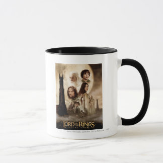 Lord of the Rings: The Two Towers Movie Poster Mug