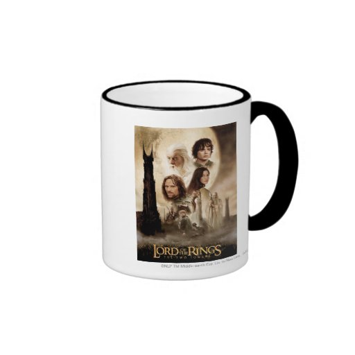 Lord of the Rings: The Two Towers Movie Poster Coffee Mug
