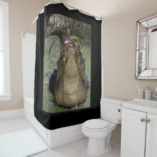 Lord of the Shower Shower Curtain