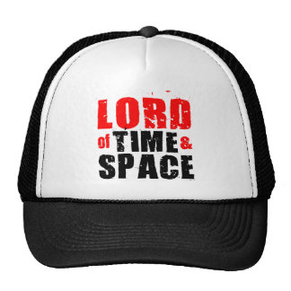 Lord of Time and Space Mesh Hats