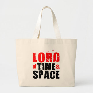 Lord of Time and Space Large Tote Bag