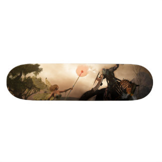 Lord of Winter, Queen of Spring Skateboard Deck