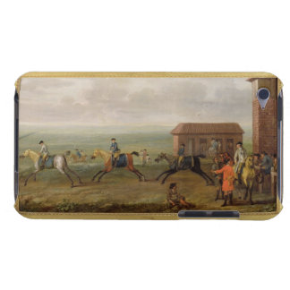 Lord Portmore Watching Racehorses on Exercise on N Barely There iPod Case