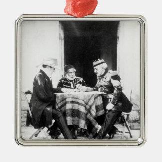 Lord Raglan,Omar Pasha & General Pelissier, Metal Ornament