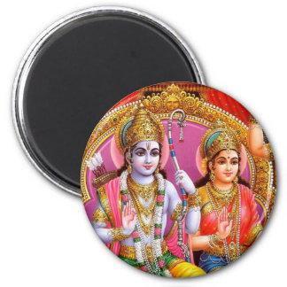 Lord Rama Fridge Magnet