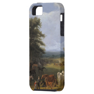 Lord River's Horse Farm oil on canvas iPhone SE/5/5s Case