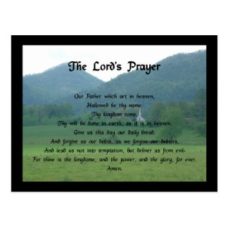 Lord s Prayer at Wolf Fork Valley Post Cards
