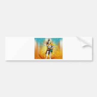 LORD SHIVA BUMPER STICKER