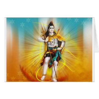 Lord Shiva Card