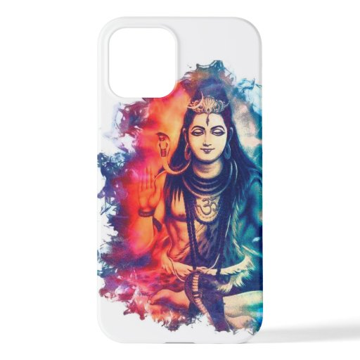 lord shiva image in phone case