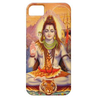 Lord Shiva Meditating iPhone 5 Case