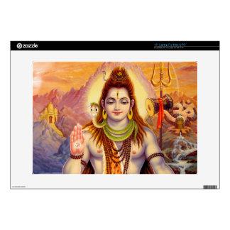 Lord Shiva Meditating Laptop Skin