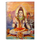 Lord Shiva Meditating Notebook