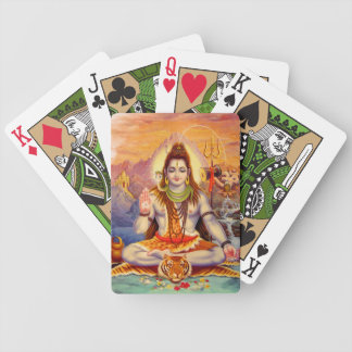 Lord Shiva Meditating Playing Cards