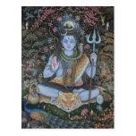 Lord Shiva Post Card Tarjeta Postal