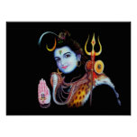 Lord Shiva Posters