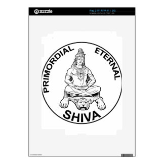 Lord Shiva primordial eternal, Indian God Decals For The iPad 2