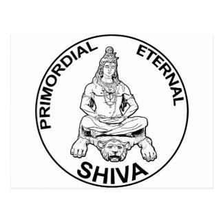 Lord Shiva primordial eternal, Indian God Postcard