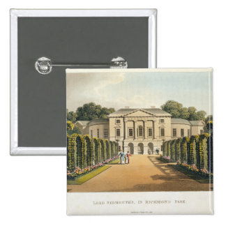 Lord Sidmouth's, in Richmond Park, from 'Fragments Pinback Button