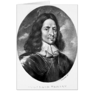 Lord Thomas Fairfax  illustration Card