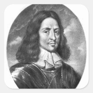 Lord Thomas Fairfax  illustration Square Sticker