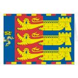 Lord Warden Cinque Ports, United Kingdom flag Cards