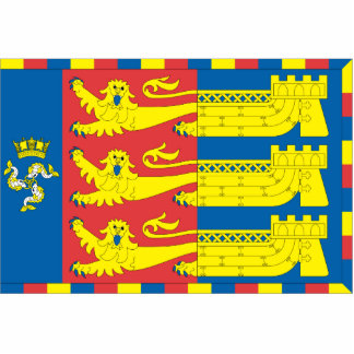 Lord Warden Cinque Ports United Kingdom flag Acrylic Cut Out