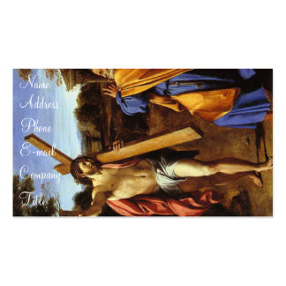 'Lord, Whither Goest Thou?' Double-Sided Standard Business Cards (Pack Of 100)