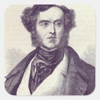Lord William George Cavendish Bentinck 2 Square Sticker