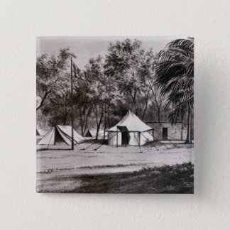 Lord Wolseley's Camp at Korti Pinback Button