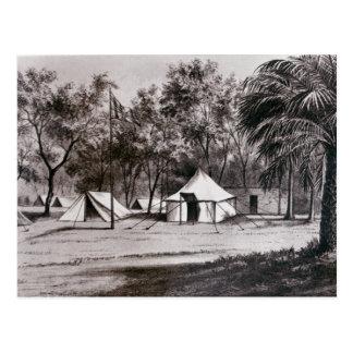 Lord Wolseley's Camp at Korti Postcard