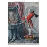 Lordly Elevation, pub. by Hannah Humphrey, 1802 Card