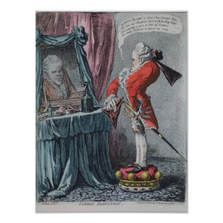 Lordly Elevation, pub. by Hannah Humphrey, 1802 Posters