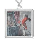 Lordly Elevation, pub. by Hannah Humphrey, 1802 Silver Plated Necklace