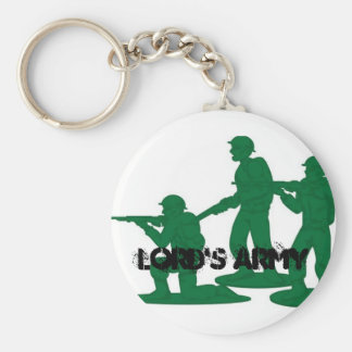 LORD'S ARMY BASIC ROUND BUTTON KEYCHAIN