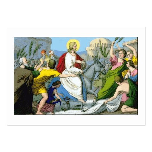 Lord's Blessings Large Business Cards (Pack Of 100)