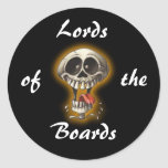 Lords, of, the, Boards Round Stickers