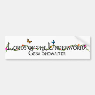 Lords of the Underworld bumper sticker. Car Bumper Sticker