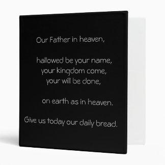Lord's Prayer Binder