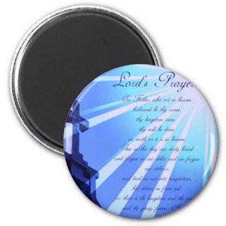 Lord's Prayer Design Magnet