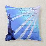 Lord's Prayer Design Pillow