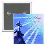 Lord's Prayer Design Pin