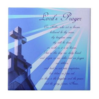 Lord's Prayer Design Tile