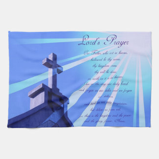 Lord's Prayer Design Towel