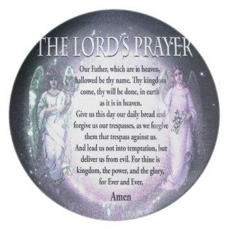Lord's Prayer Dinner Plate