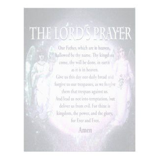 Lord's Prayer Flyer
